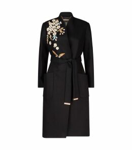 Embroidered Fennela Coat