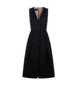 Cotton Organza Midi Dress