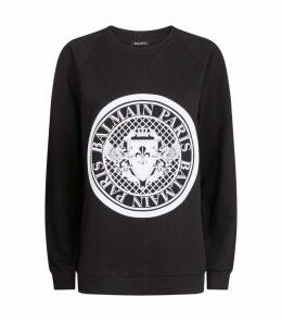 Velvet Medallion Sweater