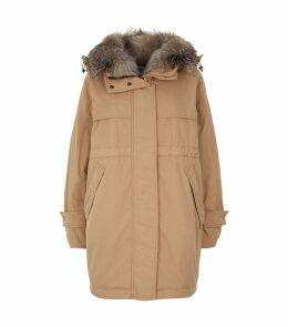 Lagopede Fox Trim Down Coat
