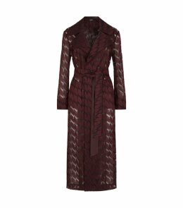 Babylon Jacquard Lips Coat