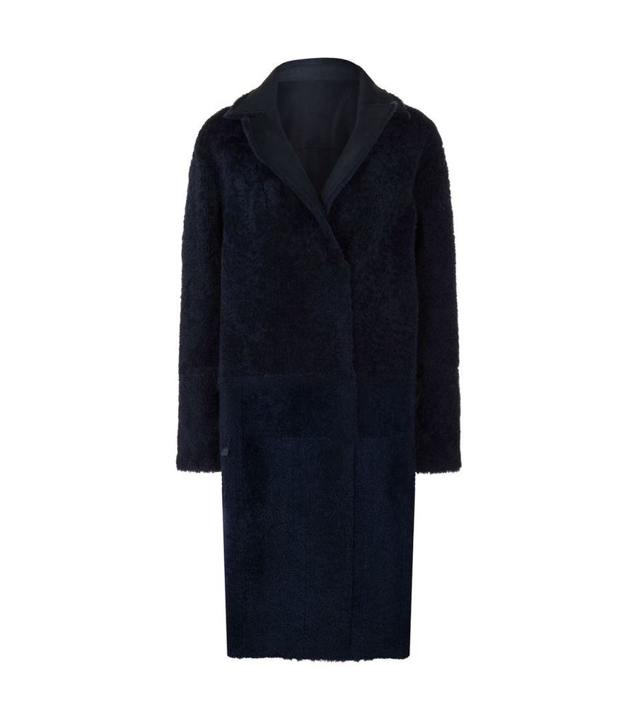 Trace Reversible Shearling Coat