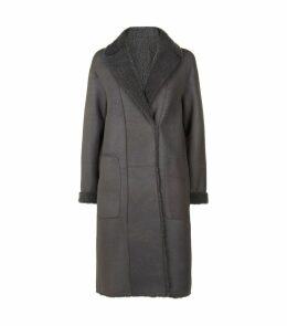 Trace Reversible Shearling Coat