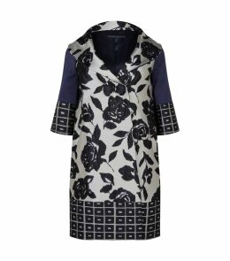 Jacquard Multi-Print Coat