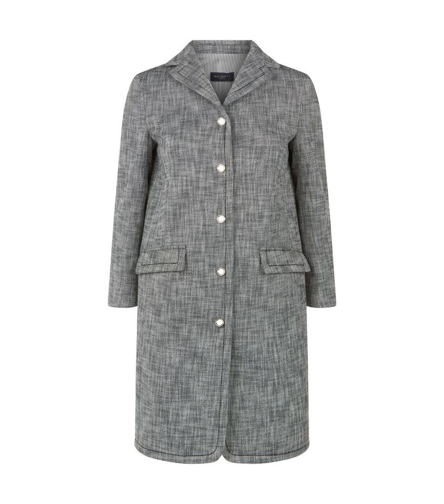 Cotton Buttoned Coat