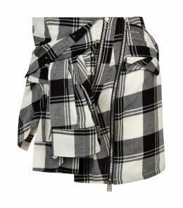 Check Shirt Skirt
