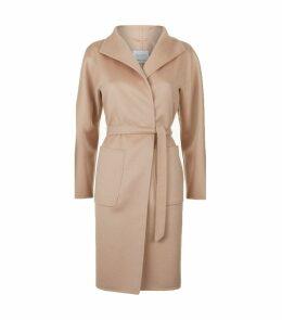 Lilia Cashmere Wrap Coat