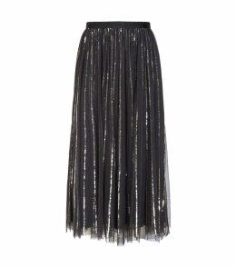 Sequin Midaxi Skirt