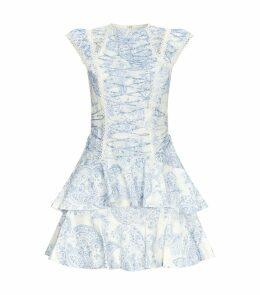 Lace-Up Charmer Dress