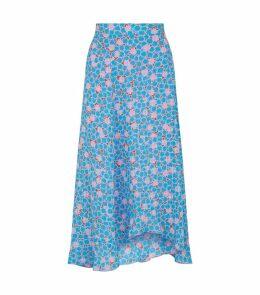 Marigold Tile Print Skirt