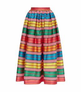 Egret Stripe Skirt
