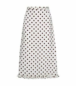 Polka Dot Ruffle Skirt