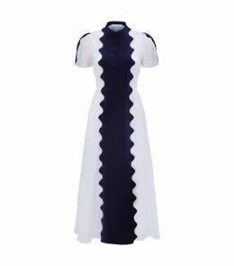 Broderie Anglaise Midi Dress