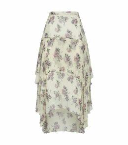 Alex Tiered Midi Skirt