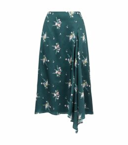 Anabell Floral Asymmetric Skirt