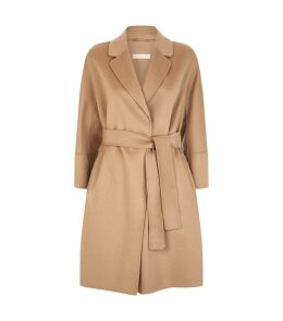 Arona Short Wool Wrap Coat
