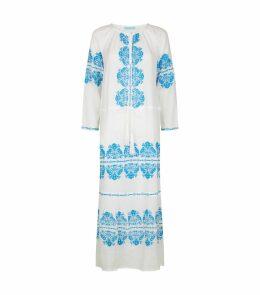 Lillie Embroidered Beach Dress