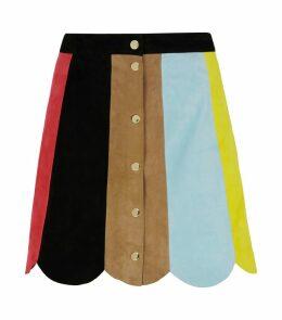 Rudie Suede Mini Skirt