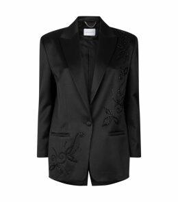 Farah Silk-Wool Blazer