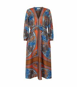 Mosaic Silk Dress