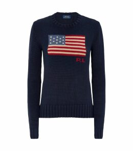 Knitted Flag Sweater