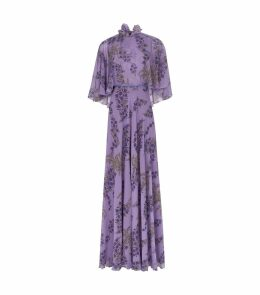 Silk Floral Gown