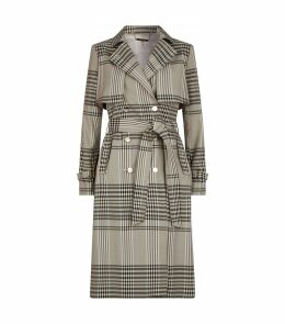 Cristta Check Trench Coat