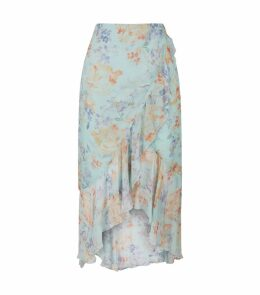 Caily Mock Wrap Skirt