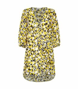 Sam Floral Wrap Dress