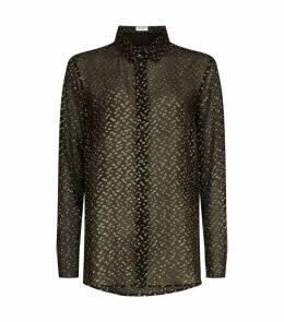 Metallic Spot Shirt