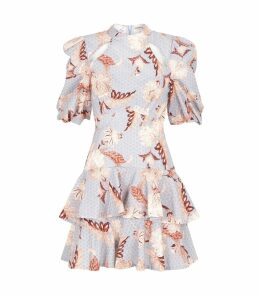 Folklore Puff Sleeve Floral Dress