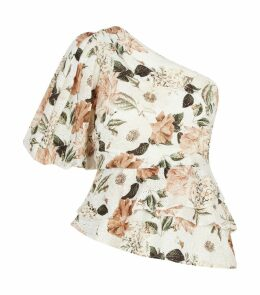 Night Cap One-Shoulder Top