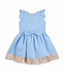 Scallop Bow Dress