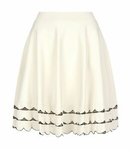Stretch-Knit Skater Skirt