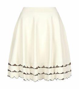 Stretch-Knit Skater Skirt
