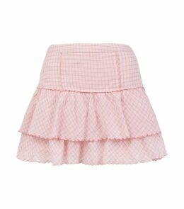 Amy Check Mini Skirt