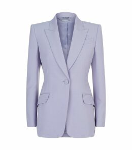 Peak Shoulder Blazer