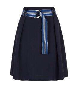 Belted Bubble Skirt