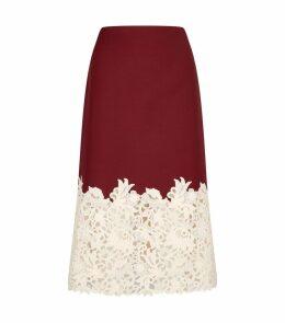 Macramé Blossom Skirt