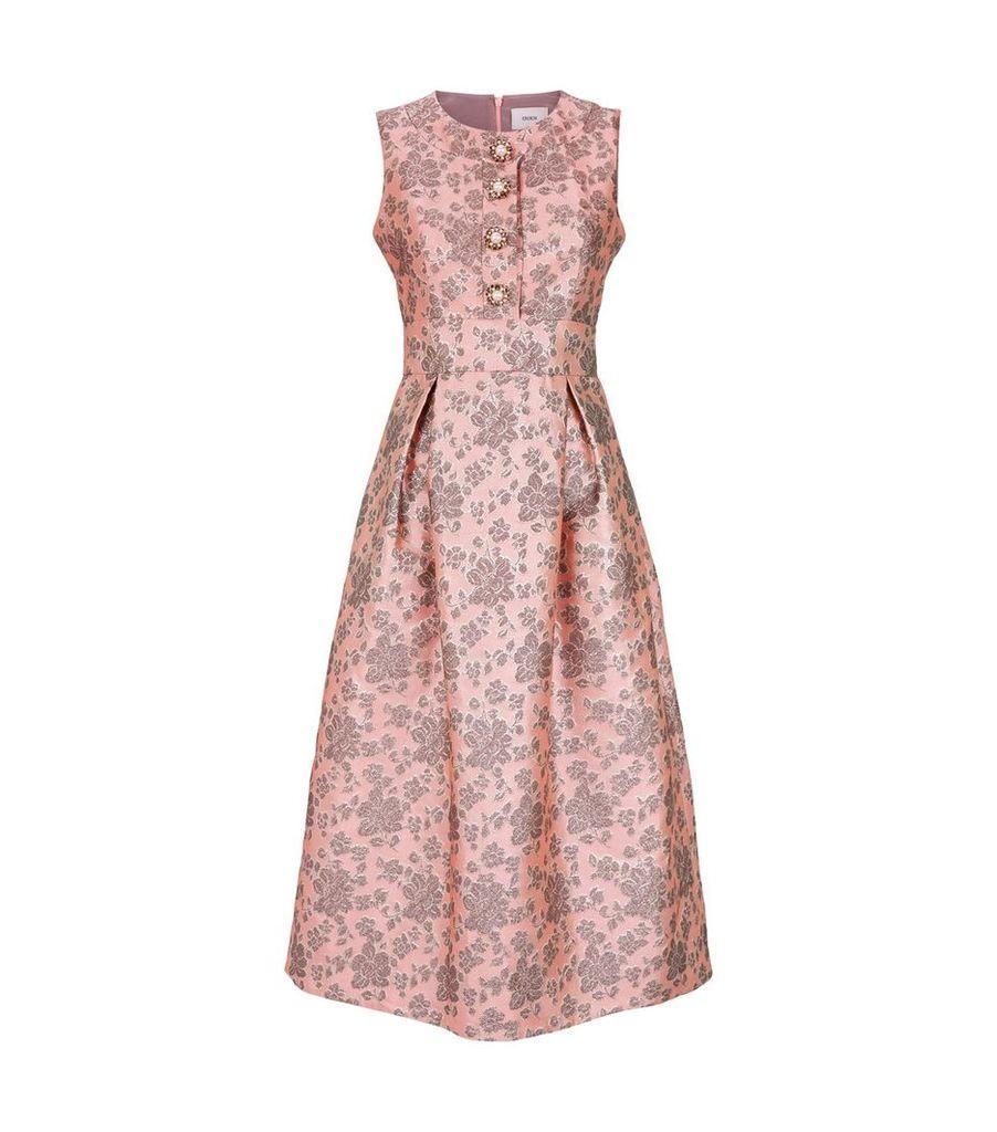 Davinia Rose Jacquard Dress