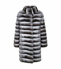 Long Chinchilla Coat