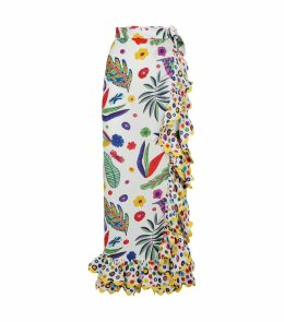 Durazno Flower Print Skirt