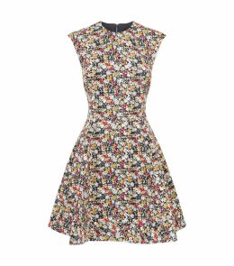 Floral A-Line Cocktail Dress