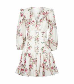 Floral Print Corset Dress