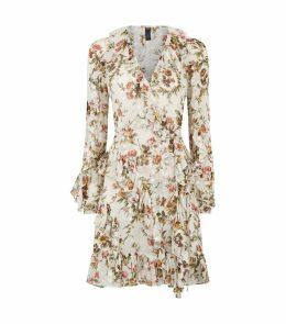 Garland Petal Wrap Dress