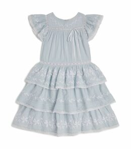 Callie Tiered Lace Dress