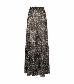 Georgette Floral Skirt