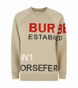 Merino Wool Horseferry Sweatshirt