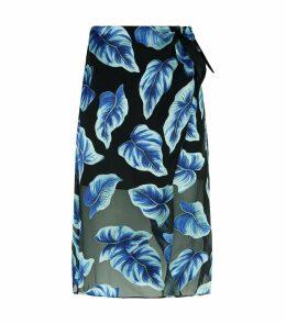 Lumi Wrap Midi Skirt
