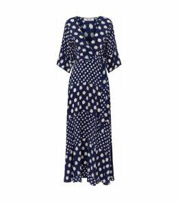 Eloise Polka Dot Wrap Dress